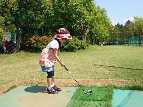 子供用のゴルフクラブ