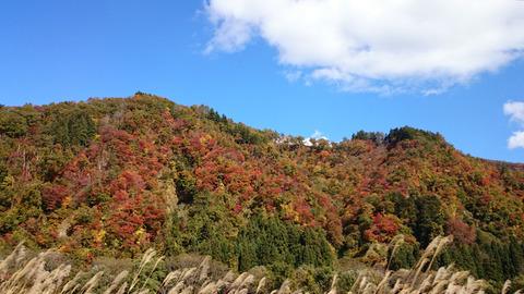 新潟塩沢石打〜湯澤の景色