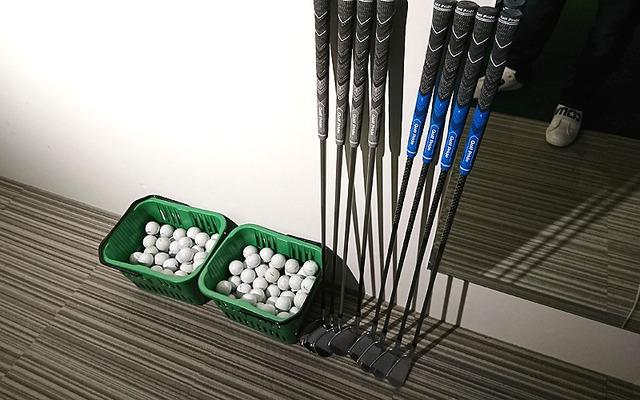 レッスンで使った道具(チップゴルフ製)