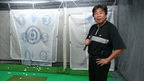 丸山コーチ(エッセンシャルゴルフ)