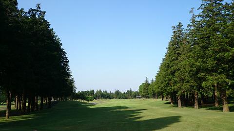 阿見ゴルフクラブIN14番