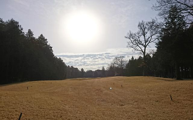ワンウェイゴルフクラブの朝陽