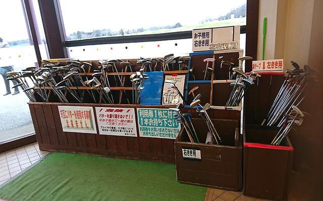 東京ドイツ村パターゴルフの貸しパター