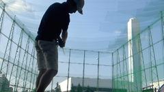 練習風景(ザ・ゴルフガーデン高島平)