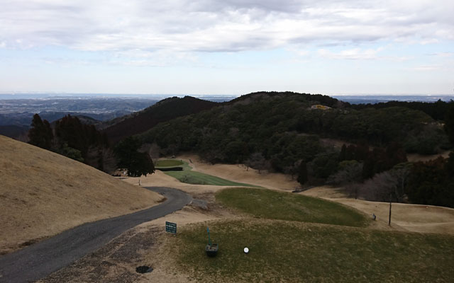 見晴らし絶景名鹿野山ゴルフ倶楽部