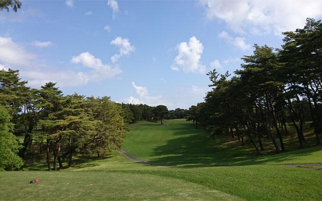 快晴の桜ゴルフ倶楽部