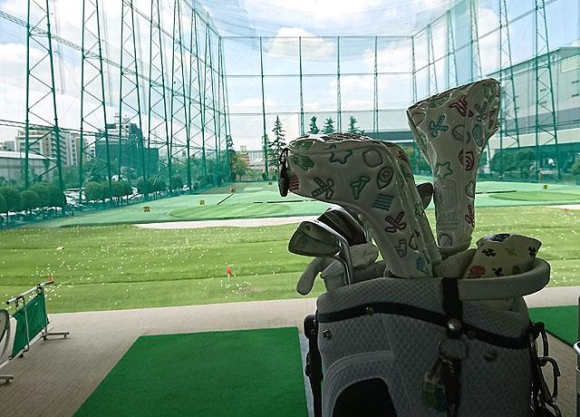 ザ・ゴルフガーデン高島平で練習したよ