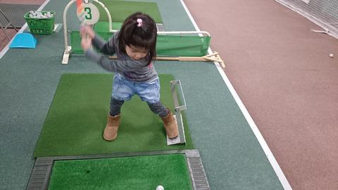 子供に学ぶゴルフスイング習得方法 (6)