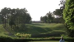 ザ・ゴルフクラブ竜ヶ崎18番ホール(ティーグラウンド)