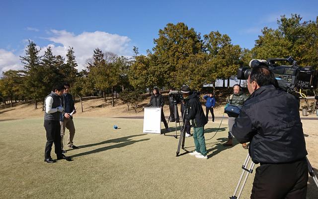 森林公園ゴルフ倶楽部で撮影