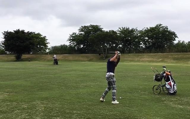 赤羽ゴルフ倶楽部プレー風景