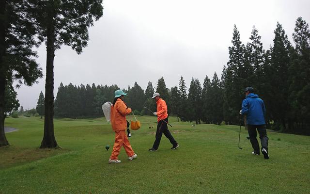 雨ゴルフはやること多くて面倒