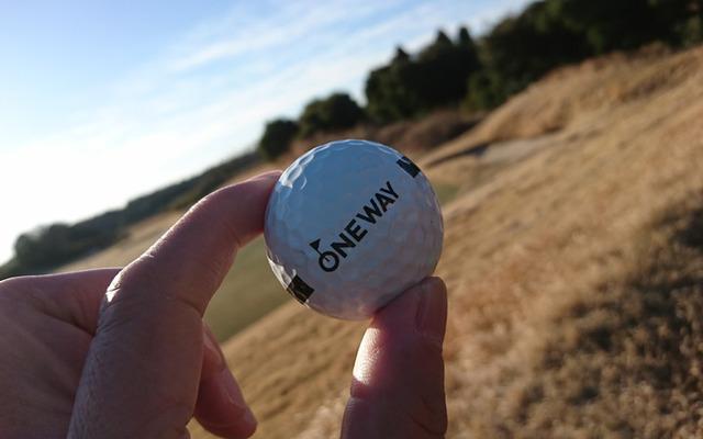 ワンウェイゴルフクラブの練習ボール