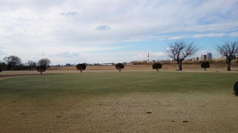 赤羽ゴルフ倶楽部の意外に大きなグリーン