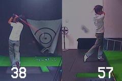 ヘッドスピードとボール初速(2010年10月)