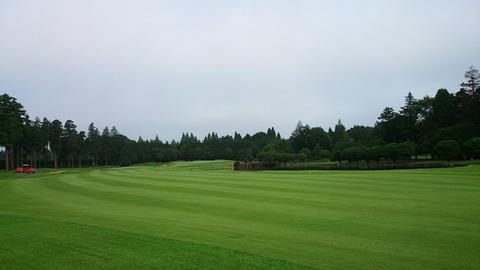 阿見ゴルフクラブ(2016年7月1日)
