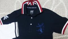 Admiralのポロシャツ(紺)
