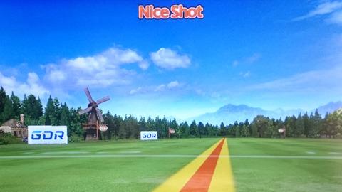 ゴルフゾンGDRの画面