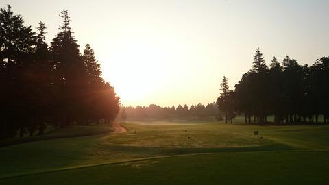 阿見ゴルフクラブ早朝ゴルフ
