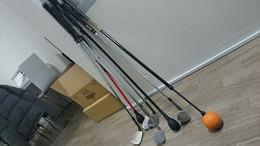 職場のゴルフ道具