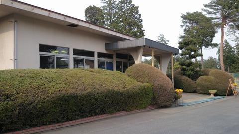 芦刈ゴルフコースのクラブハウス