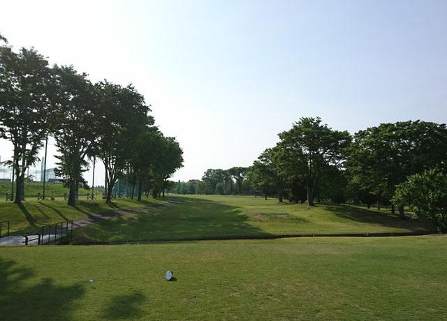 新玉村ゴルフ場アウトコース