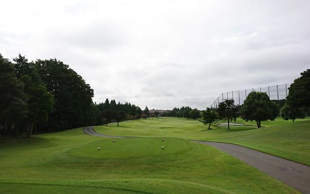 阿見ゴルフクラブの18番ホール