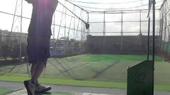 向原ゴルフセンター練習風景