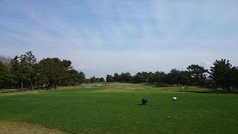 若洲ゴルフリンクス2015年春