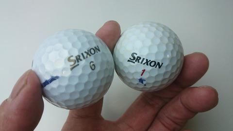 ボールの性能比較