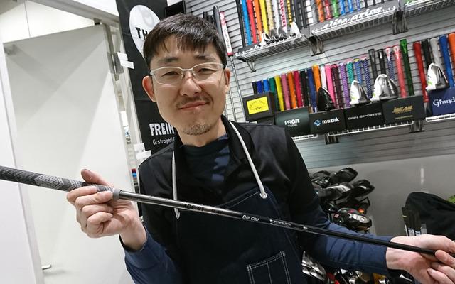 チップゴルフの安達店長