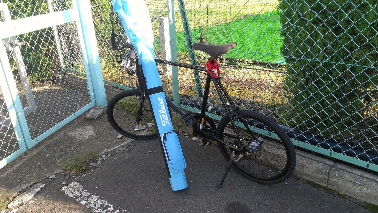 自転車の 自転車 初心者 : 担ぎやすいゴルフクラブケース ...