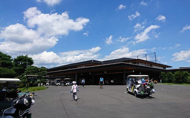 立川国際カントリー倶楽部のクラブハウス