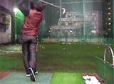公和ゴルフセンターで練習