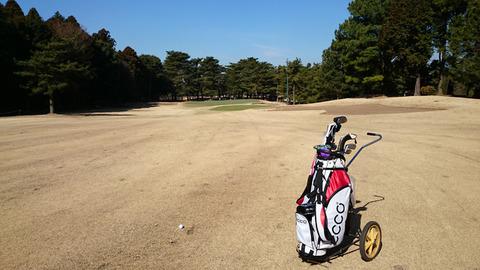 八千代ゴルフクラブ17番ホール