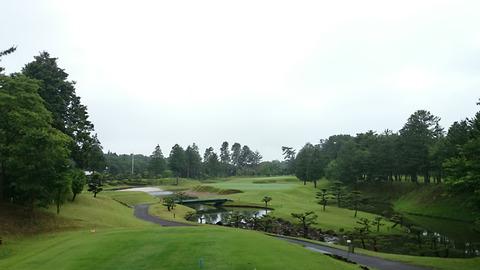 八千代ゴルフクラブ18番ホール