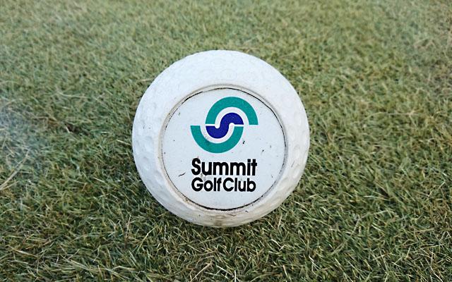サミットゴルフクラブのティーマーク