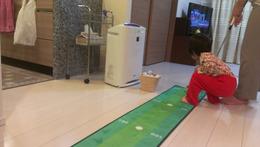 自宅パッティング練習 (2)