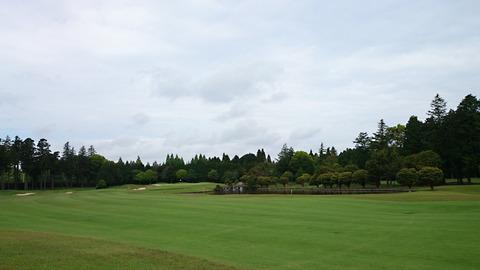 雄大な景観の阿見ゴルフクラブ
