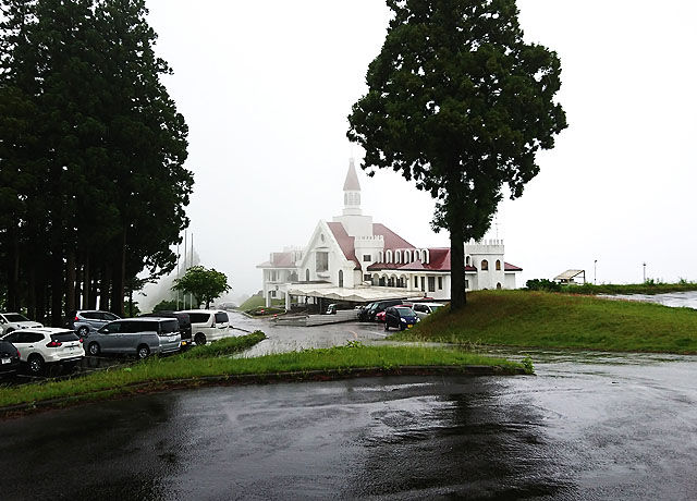 雨の十日町カントリークラブ