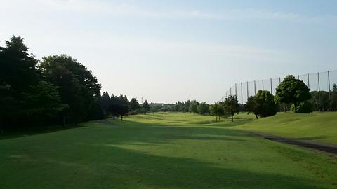 阿見ゴルフクラブOUT9番