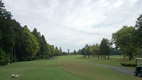 阿見ゴルフクラブは雄大