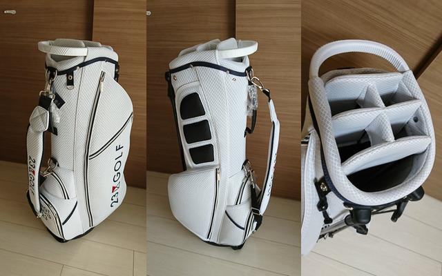 23区ゴルフの軽量スタンド式キャディバッグ購入