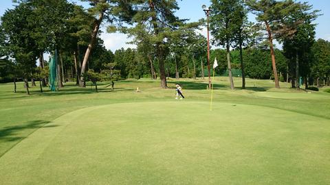芦刈ゴルフクラブのグリーン