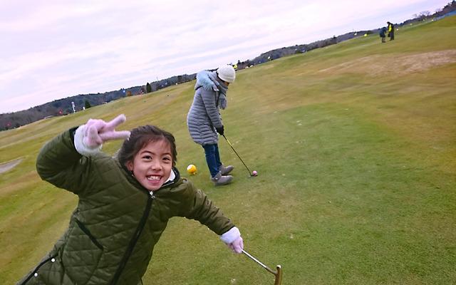 東京ドイツ村で家族パターゴルフ大会