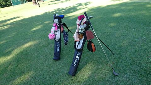 芦刈ゴルフを家族でプレー