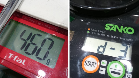ウェッジの重量とバランス