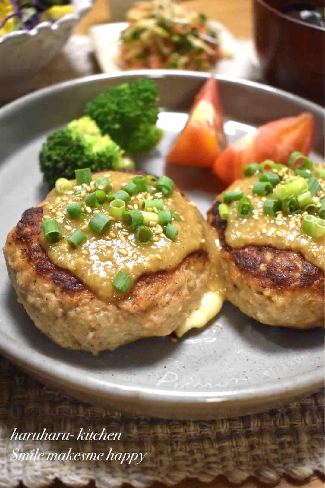 豆腐ハンバーグ 照り焼きソース レシピ