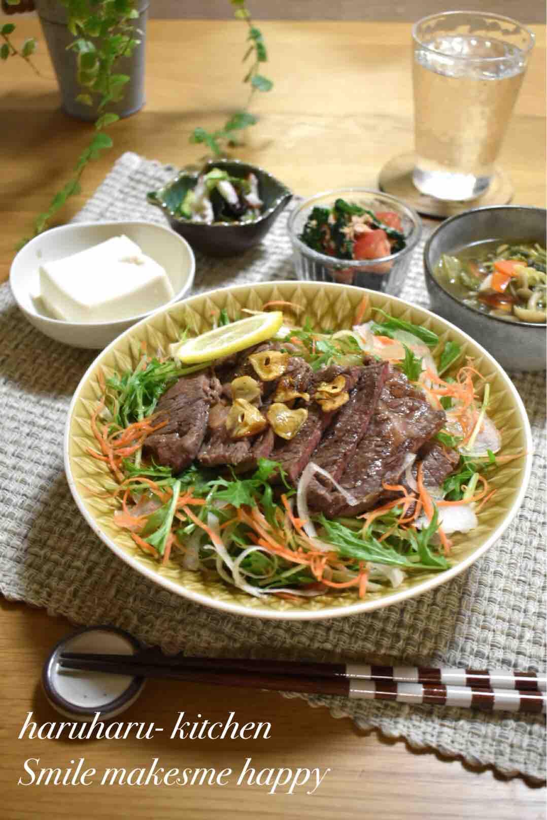 丼 レシピ ステーキ
