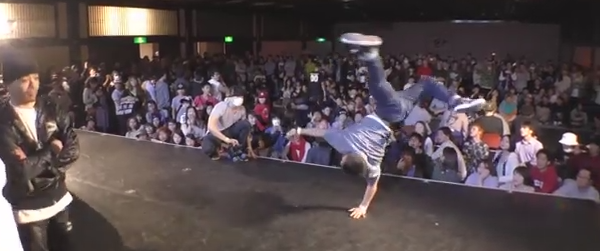 ISSEI vs ToMo BEST8 BREAK DANCE@LIVE PRE 2014